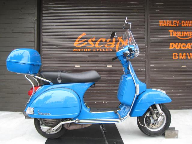 VESPA PX150ユーロ3ブルー