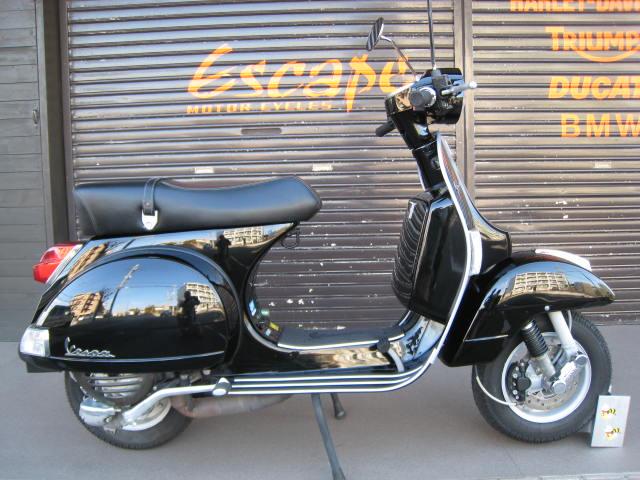 VESPA X125ユーロ3 ブラック