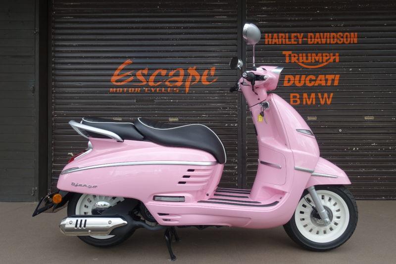 プジョー ジャンゴ125ABS ピンク