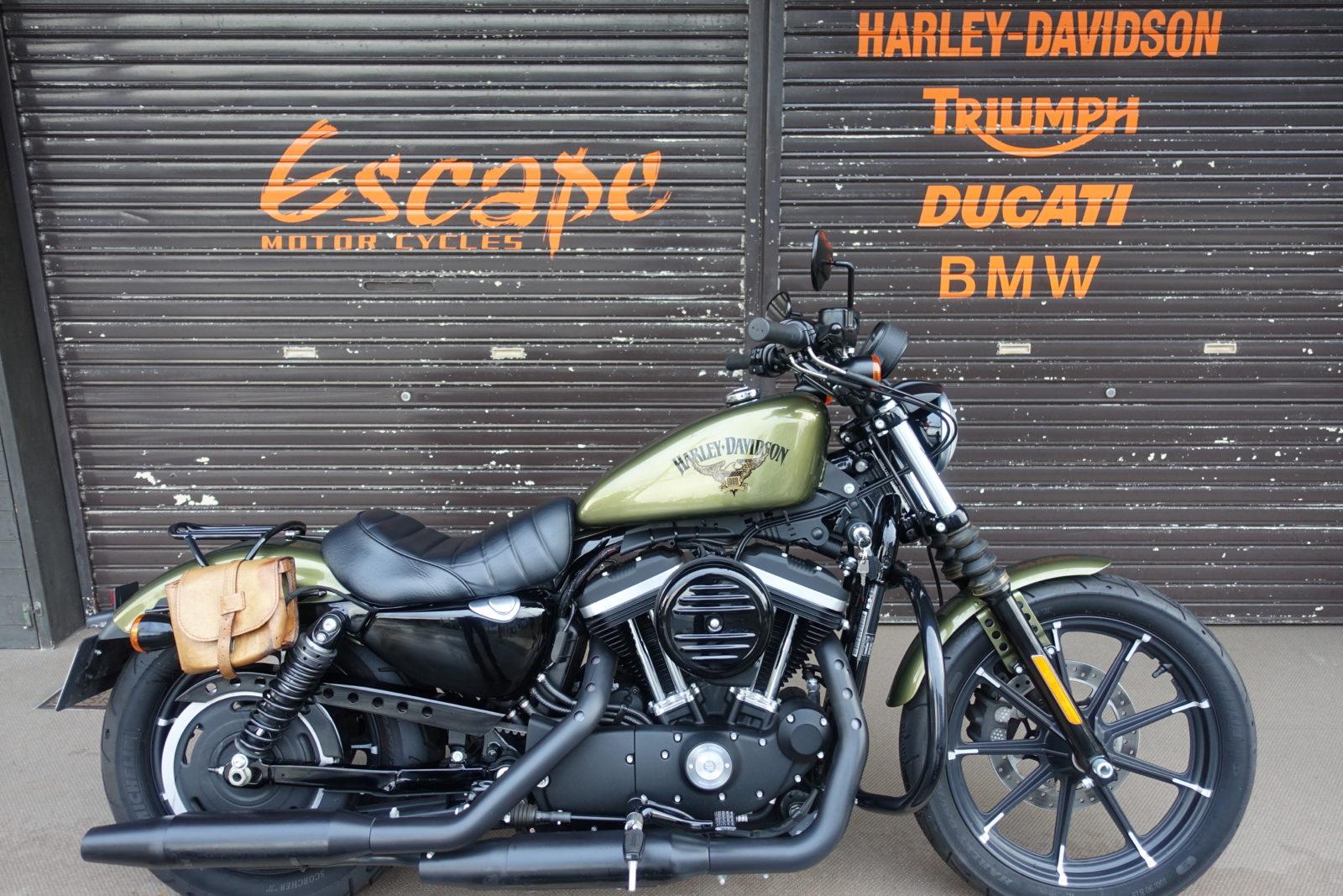 HARLEY-DAVIDSON XL883N アイアン オリーブゴールド